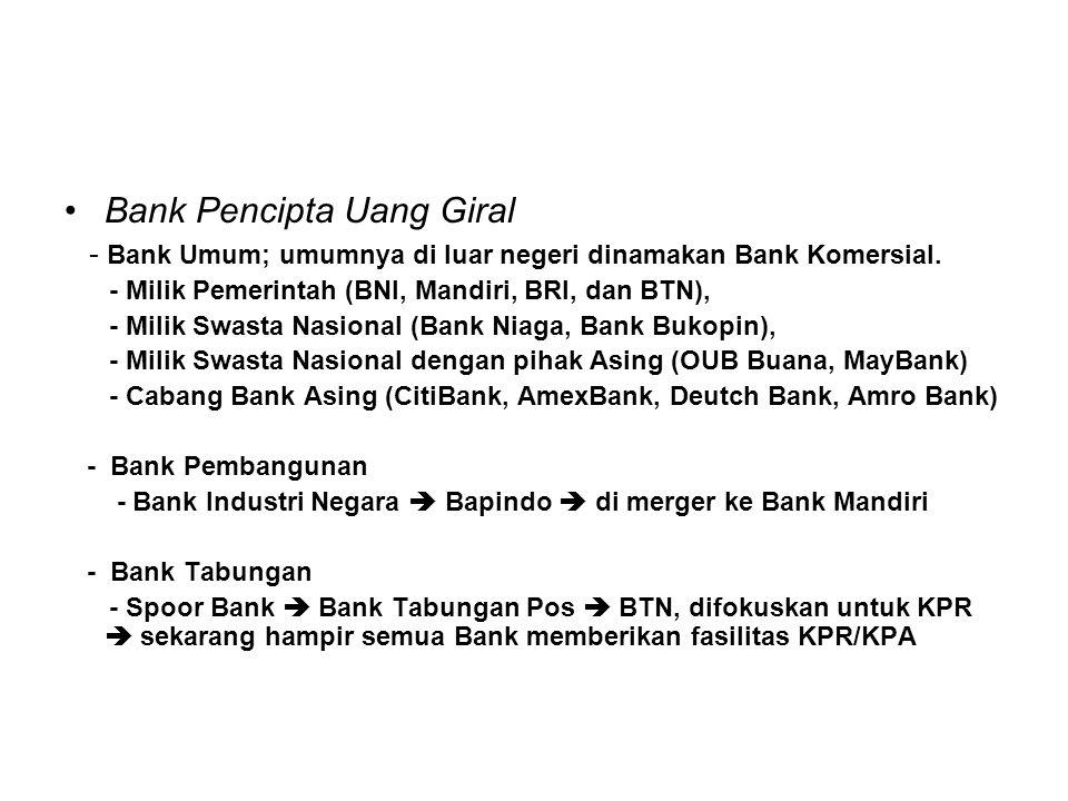 Bank Pencipta Uang Giral