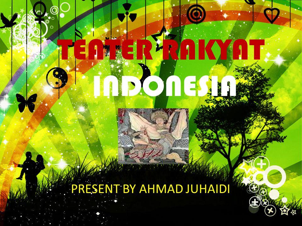TEATER RAKYAT INDONESIA