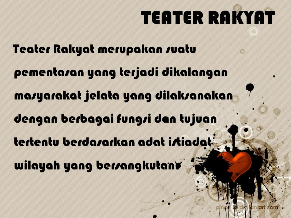 TEATER RAKYAT