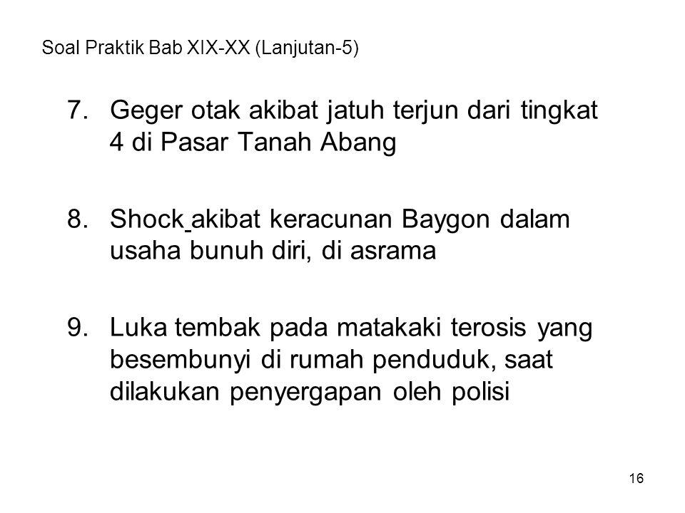 Soal Praktik Bab XIX-XX (Lanjutan-5)