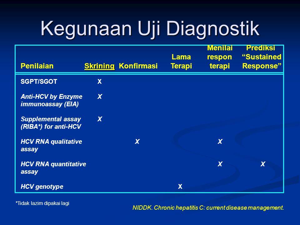 Kegunaan Uji Diagnostik