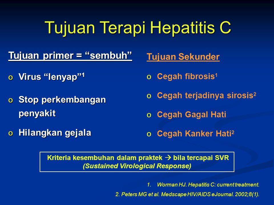 Tujuan Terapi Hepatitis C