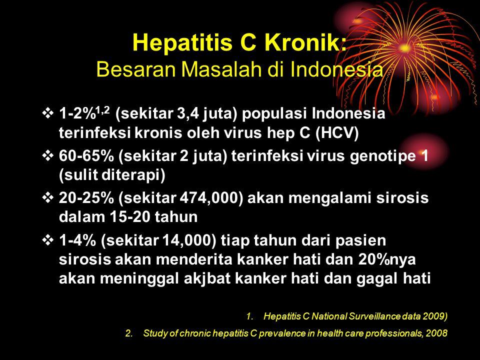 Hepatitis C Kronik: Besaran Masalah di Indonesia