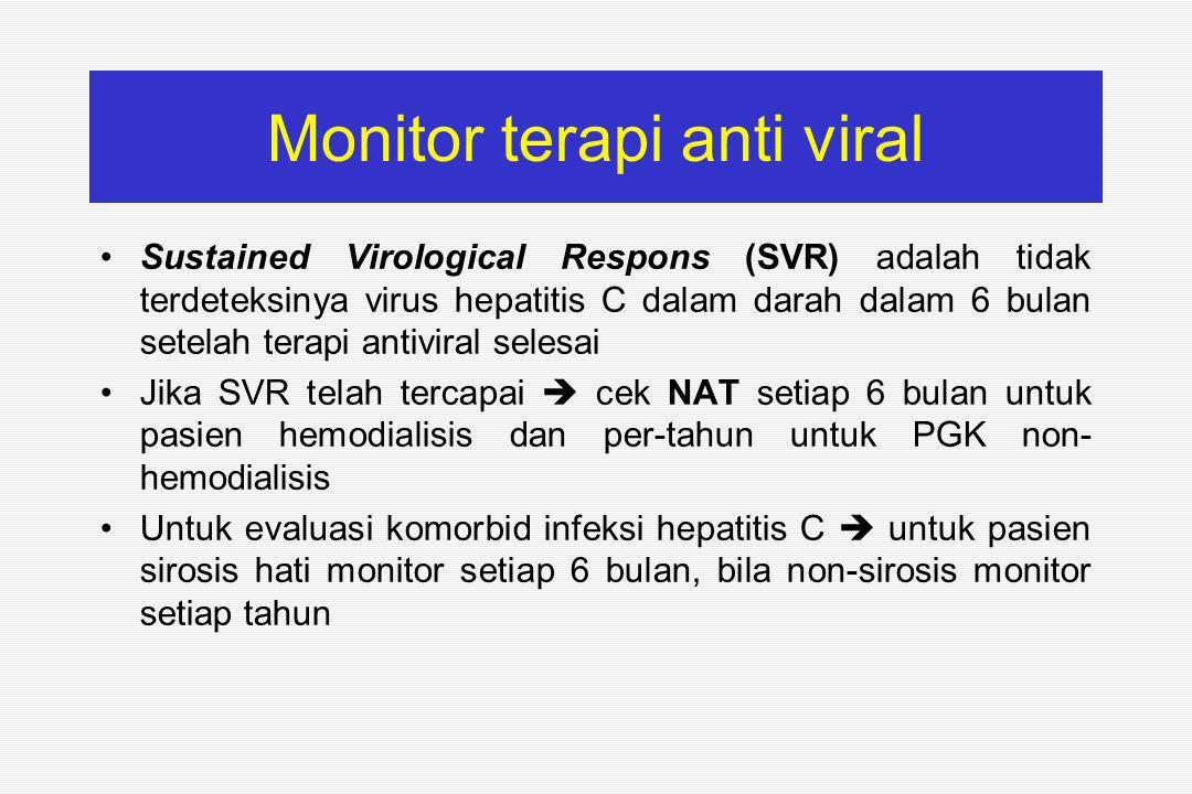 Monitor terapi anti viral