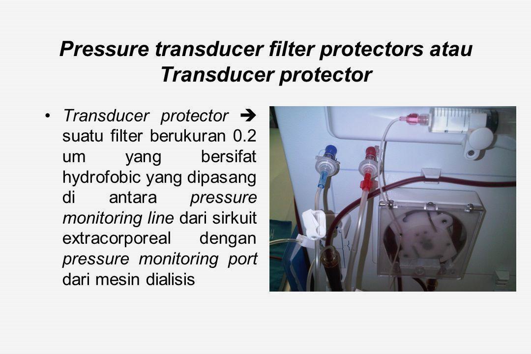 Pressure transducer filter protectors atau Transducer protector