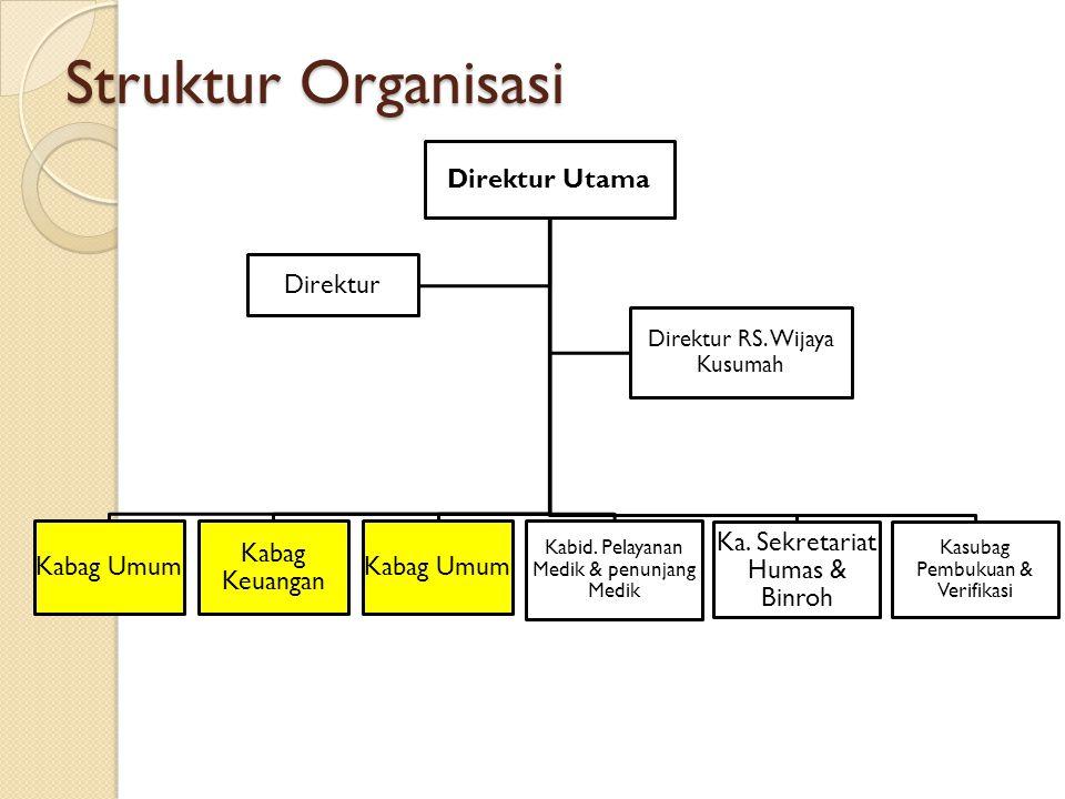 Struktur Organisasi Direktur Utama Direktur