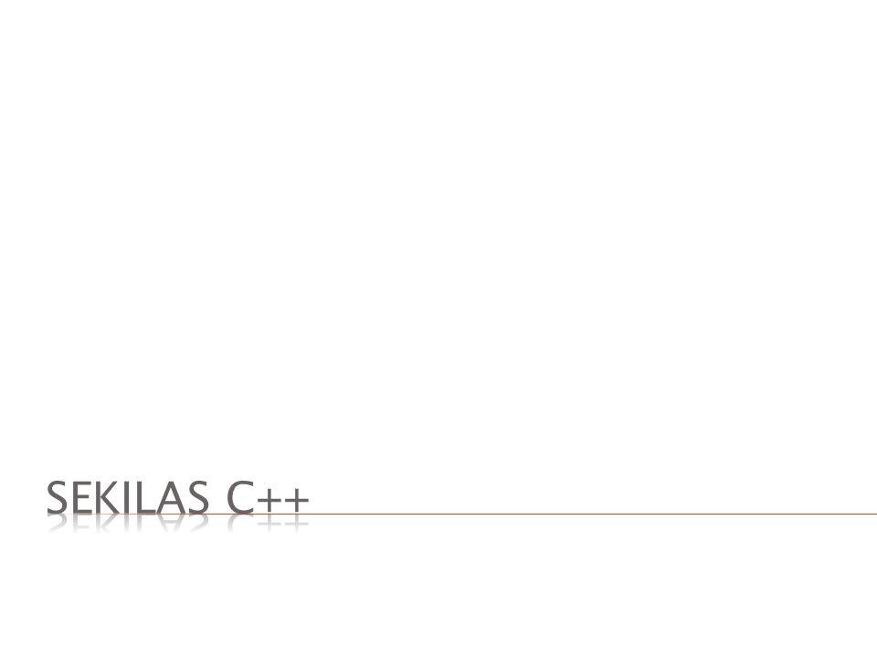 Sekilas C++