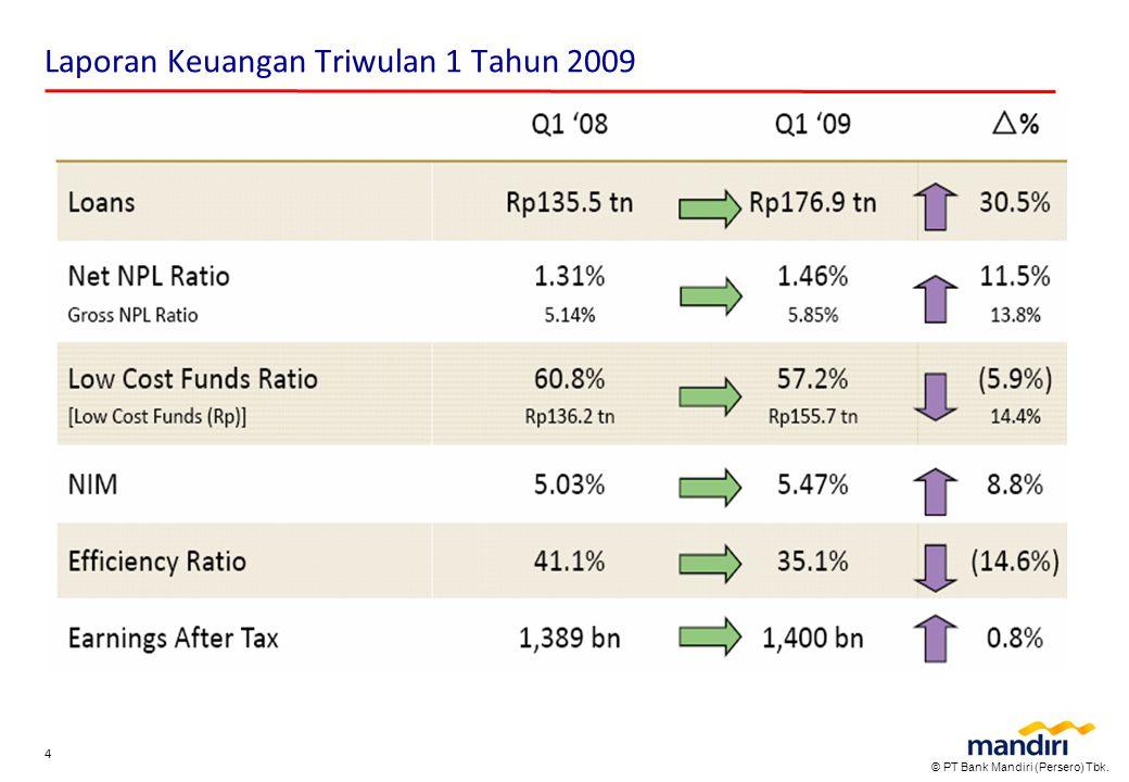 Laporan Keuangan Triwulan 1 Tahun 2009