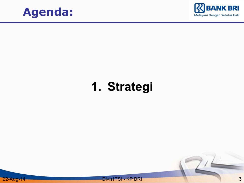 Agenda: Strategi 5-Apr-17 Divisi TSI - KP BRI