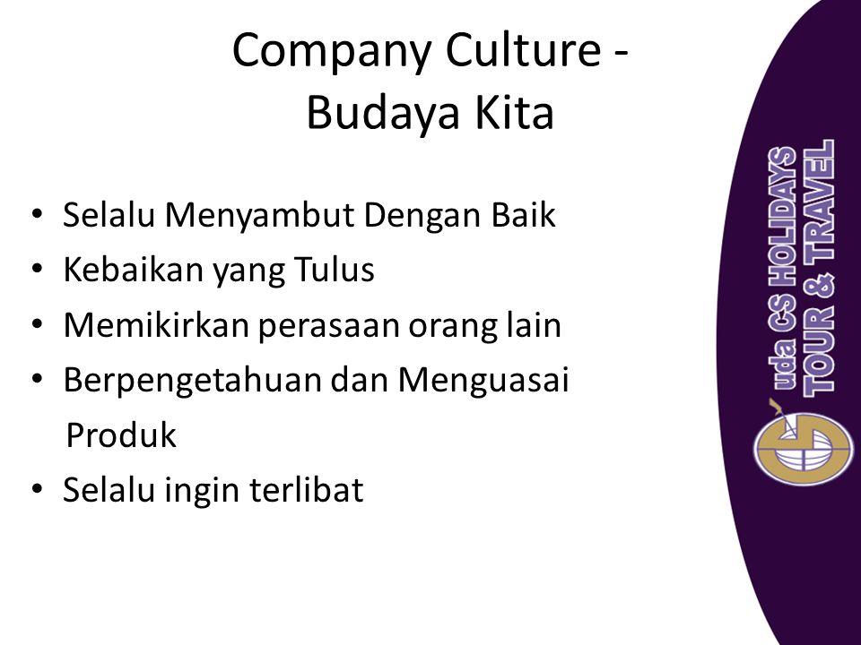 Company Culture - Budaya Kita