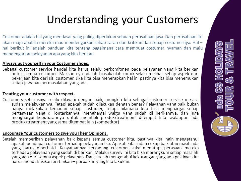 Understanding your Customers