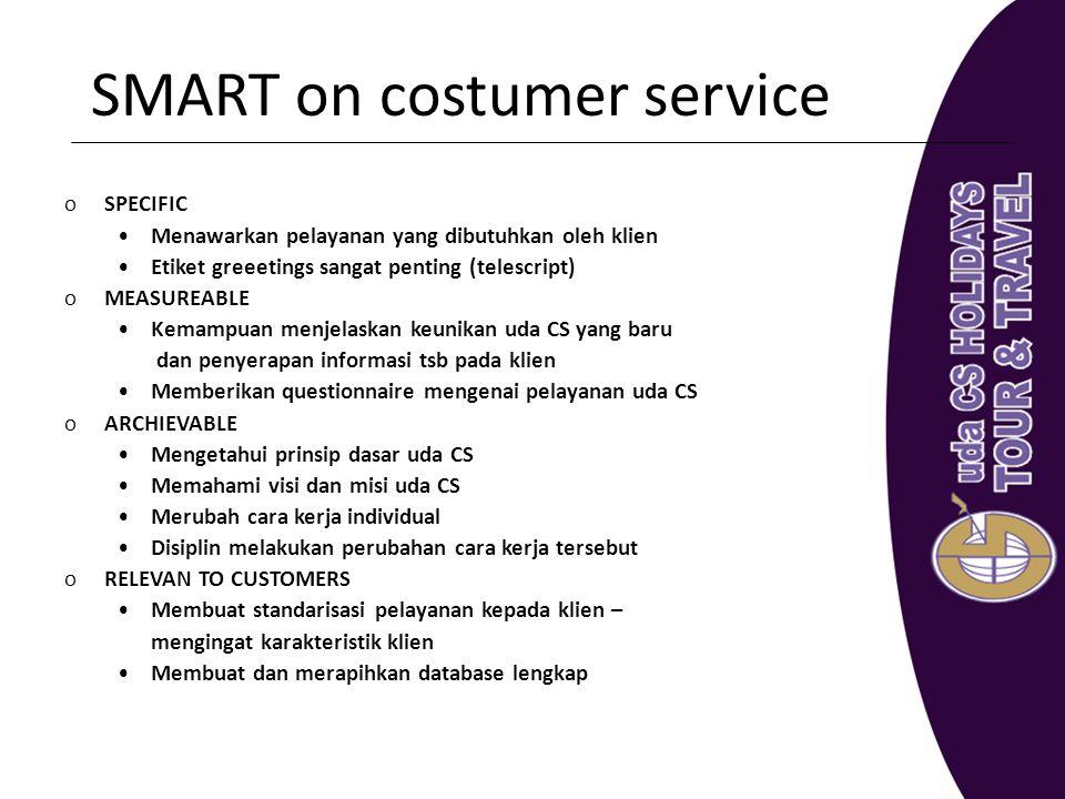 SMART on costumer service