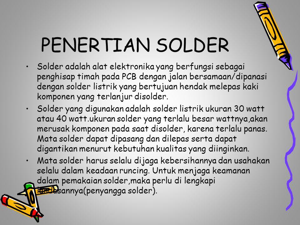 PENERTIAN SOLDER