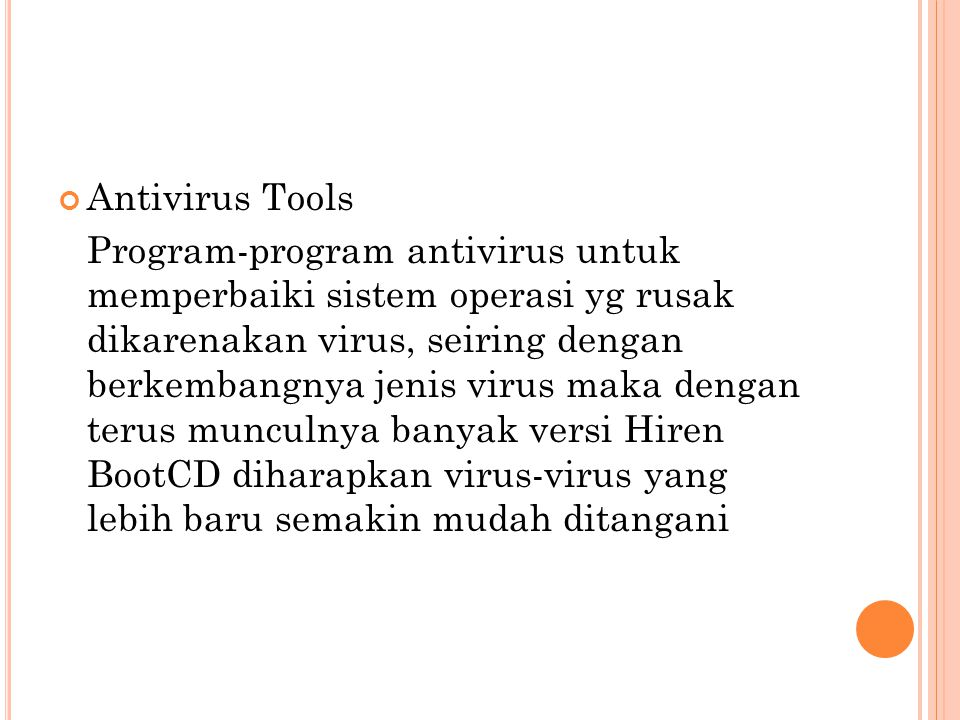 Antivirus Tools
