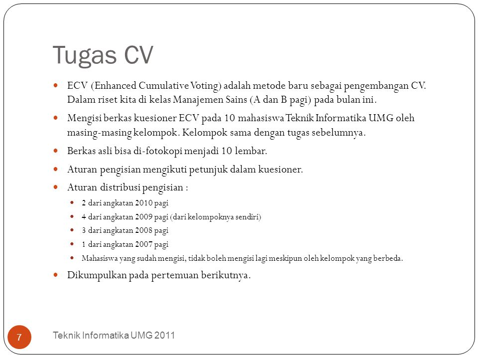 Tugas CV