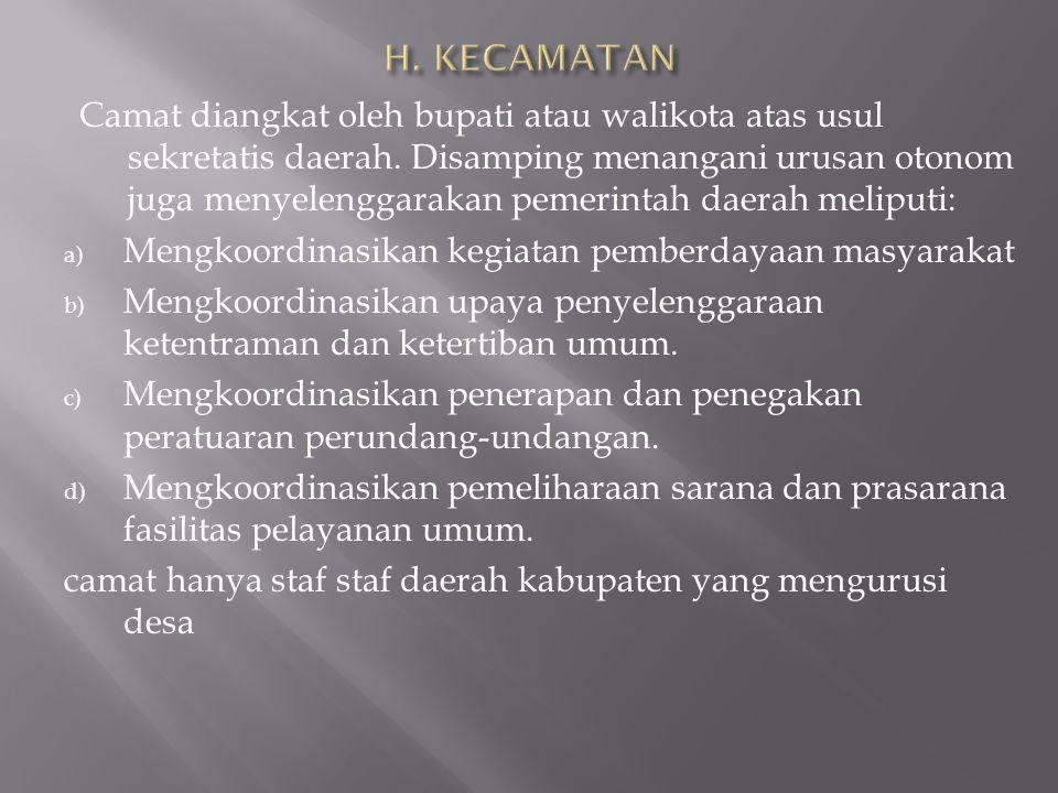 H. KECAMATAN