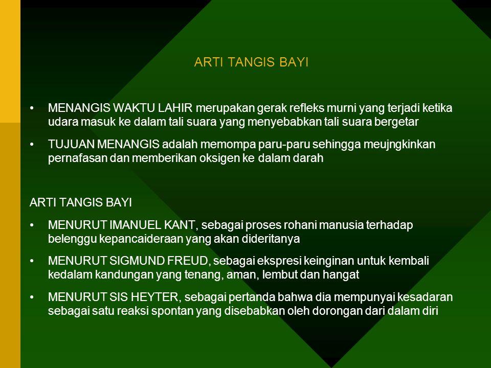 ARTI TANGIS BAYI