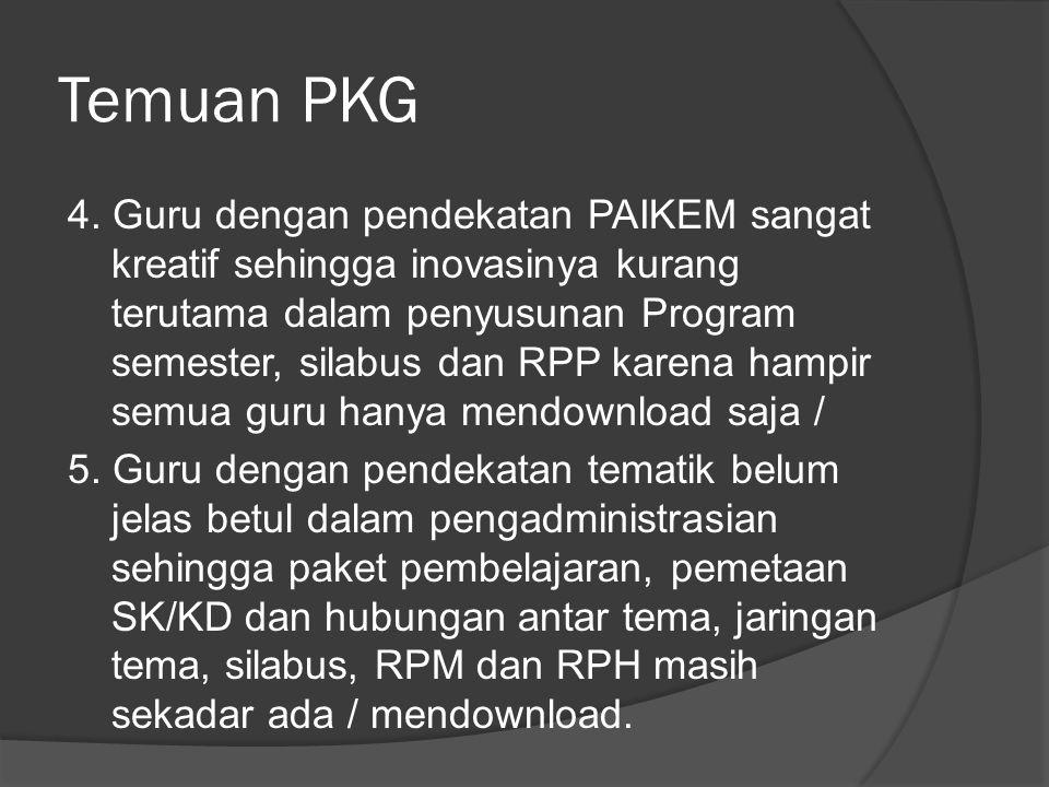 Temuan PKG