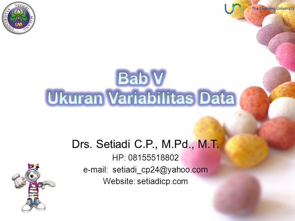 Ukuran Variabilitas Data