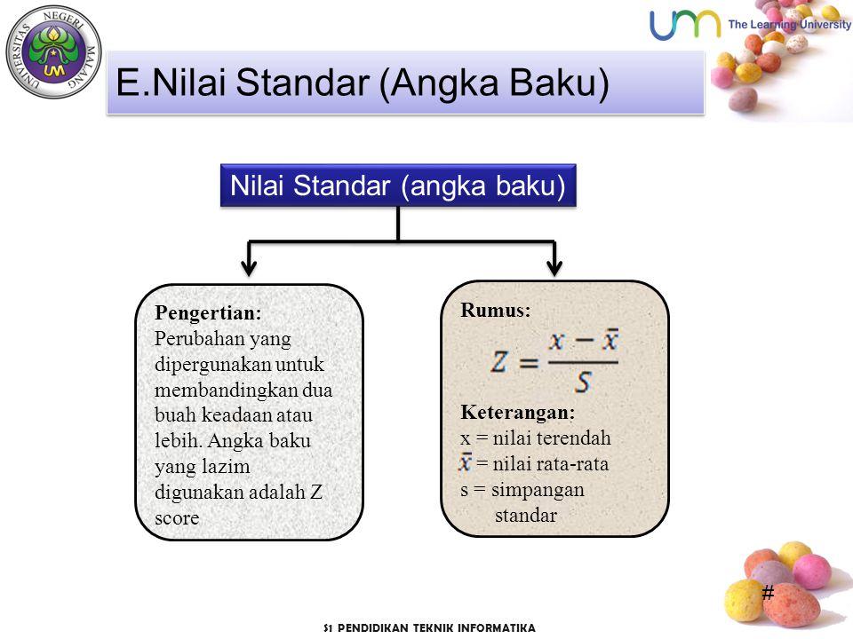 Nilai Standar (angka baku)