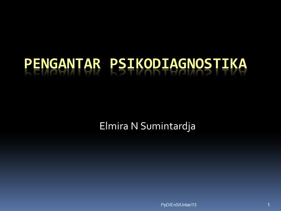 Pengantar Psikodiagnostika