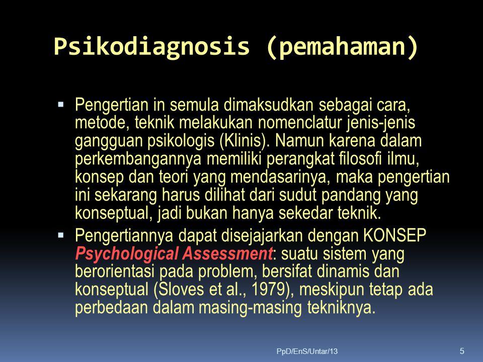 Psikodiagnosis (pemahaman)