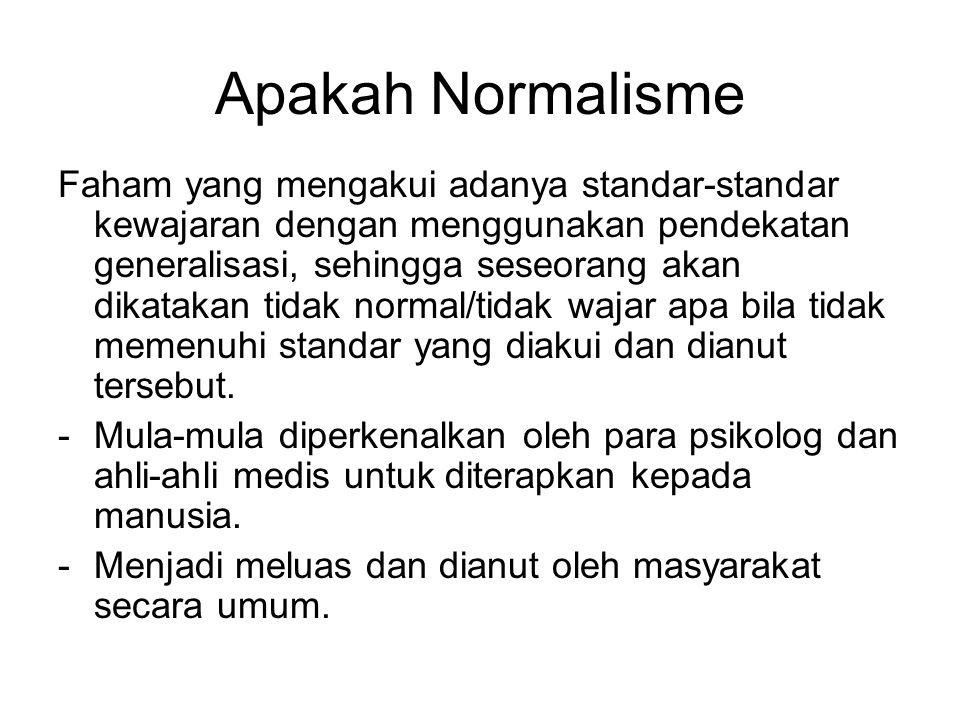 Apakah Normalisme