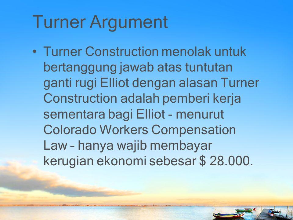 Turner Argument