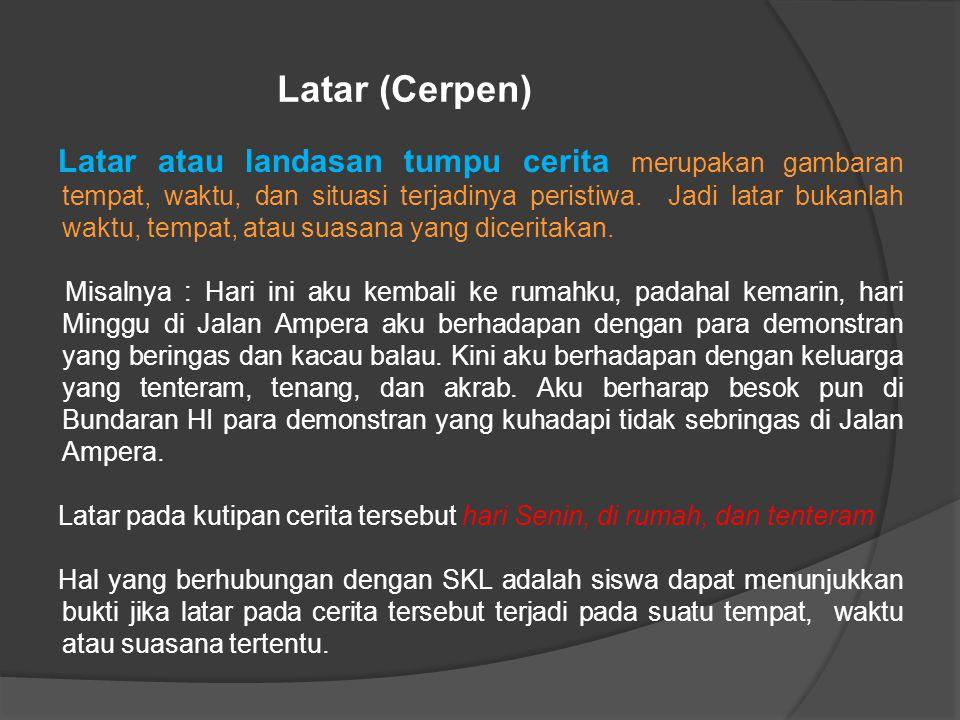 Latar (Cerpen)