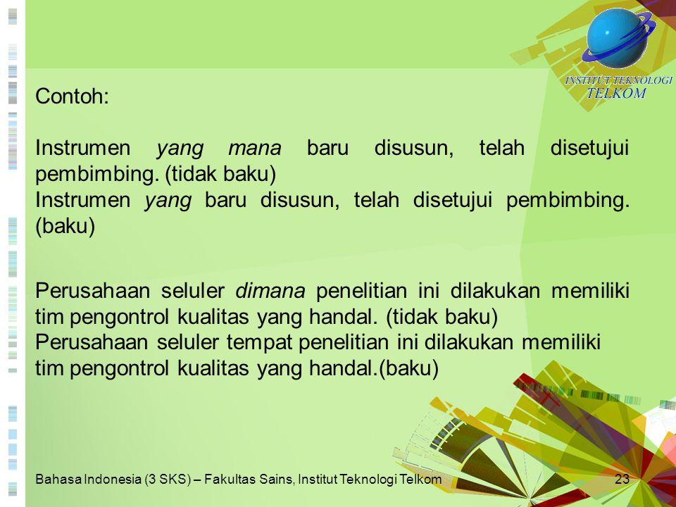 BAB 1 KONTEKS BAHASA INDONESIA
