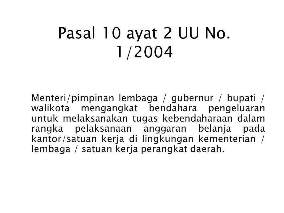 Pasal 10 ayat 2 UU No. 1/2004