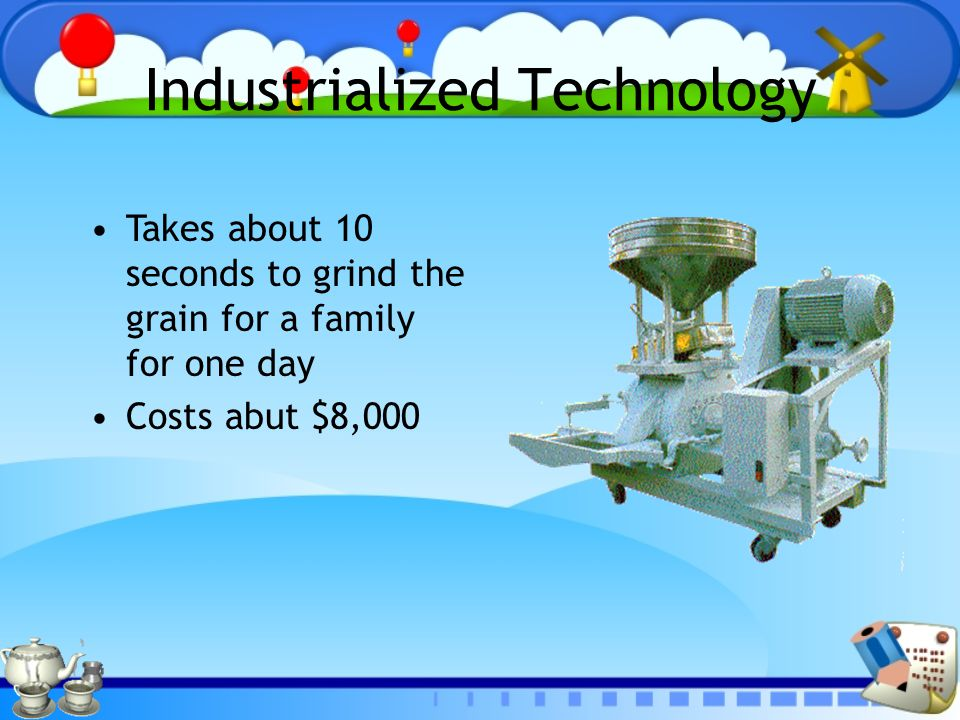 Industrialized Technology