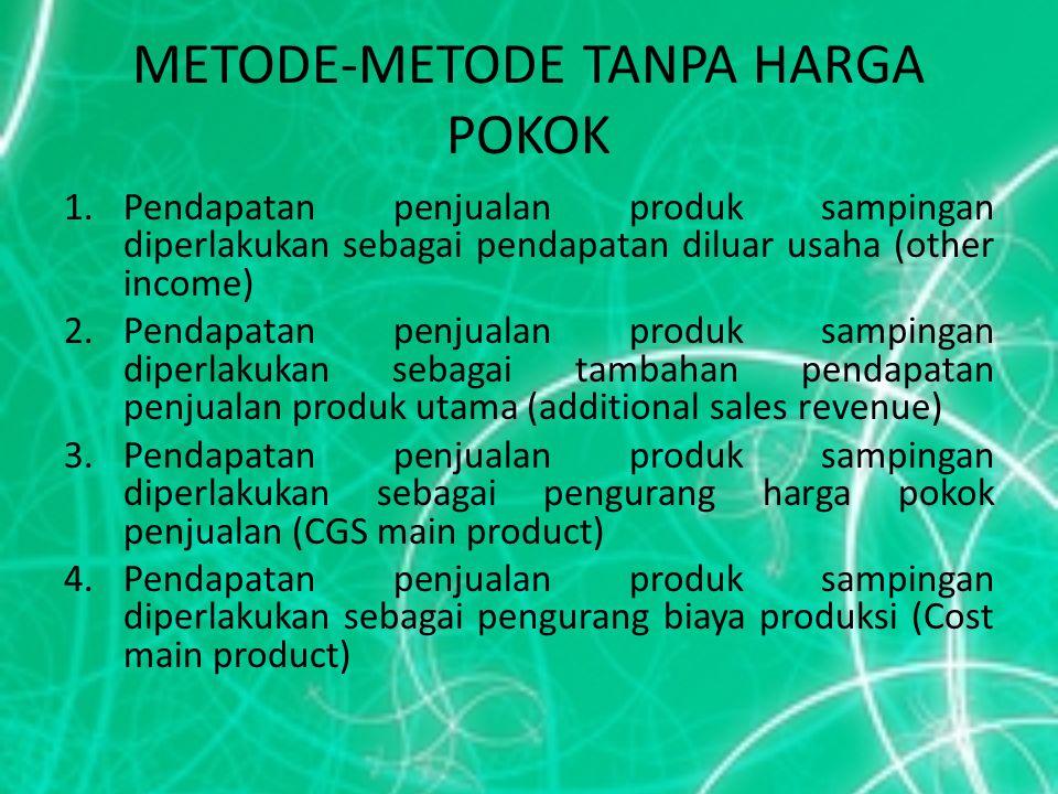 METODE-METODE TANPA HARGA POKOK