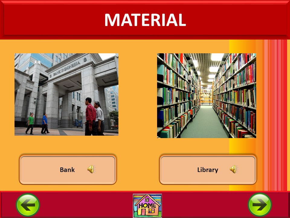 MATERIAL Bank Library