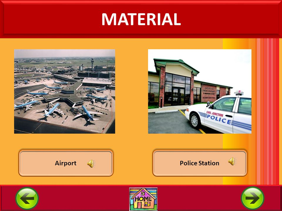 MATERIAL Airport Police Station