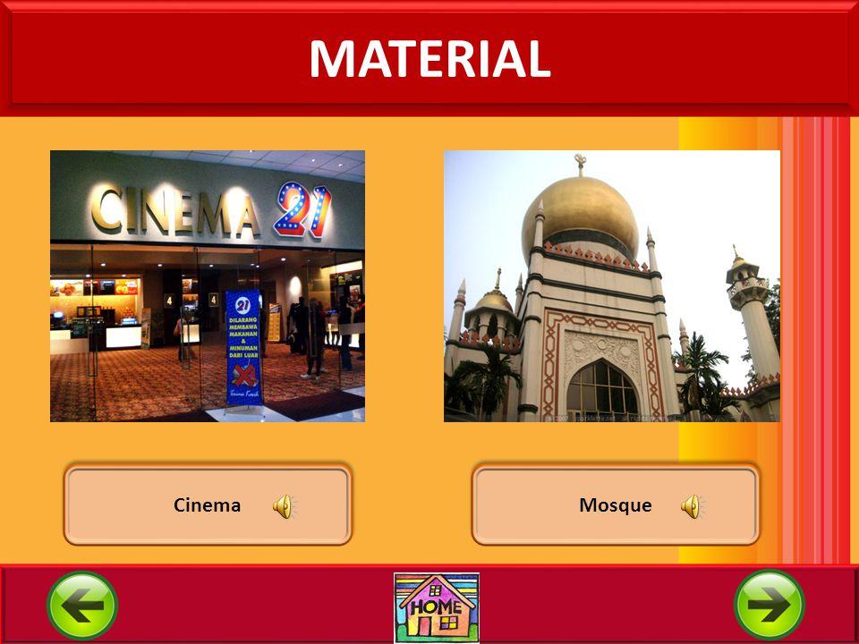 MATERIAL Cinema Mosque
