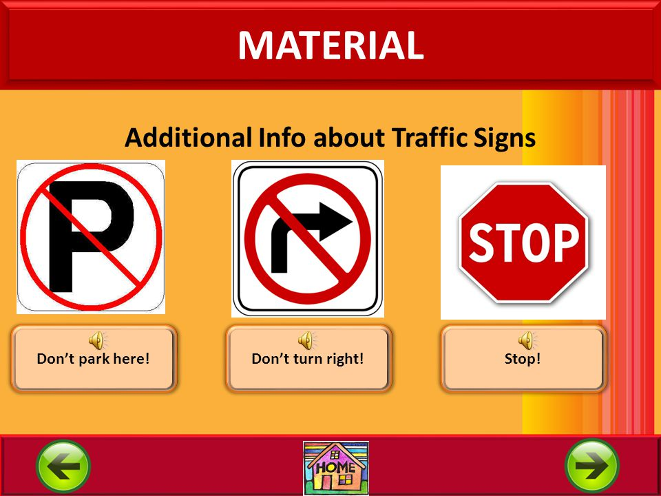 Additional Info about Traffic Signs