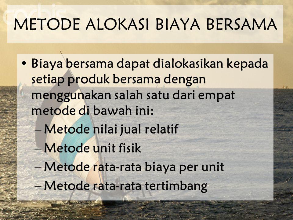 METODE ALOKASI BIAYA BERSAMA