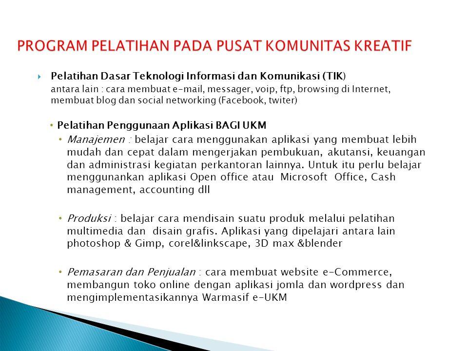 Pelatihan Dasar Teknologi Informasi dan Komunikasi (TIK)
