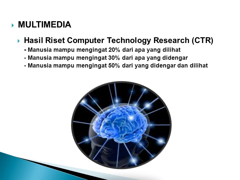 MULTIMEDIA Hasil Riset Computer Technology Research (CTR)