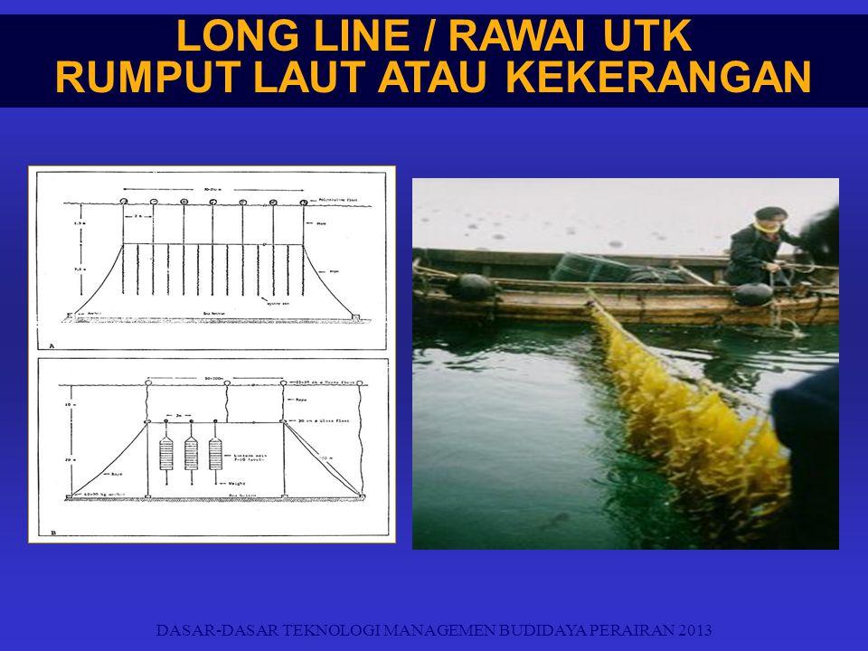 LONG LINE / RAWAI UTK RUMPUT LAUT ATAU KEKERANGAN