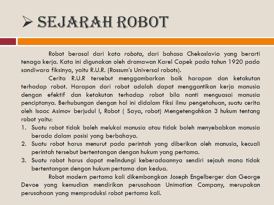 Sejarah Robot