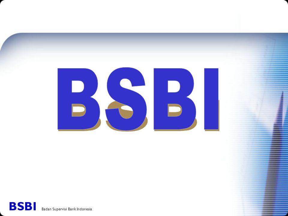 BSBI BSBI Badan Supervisi Bank Indonesia