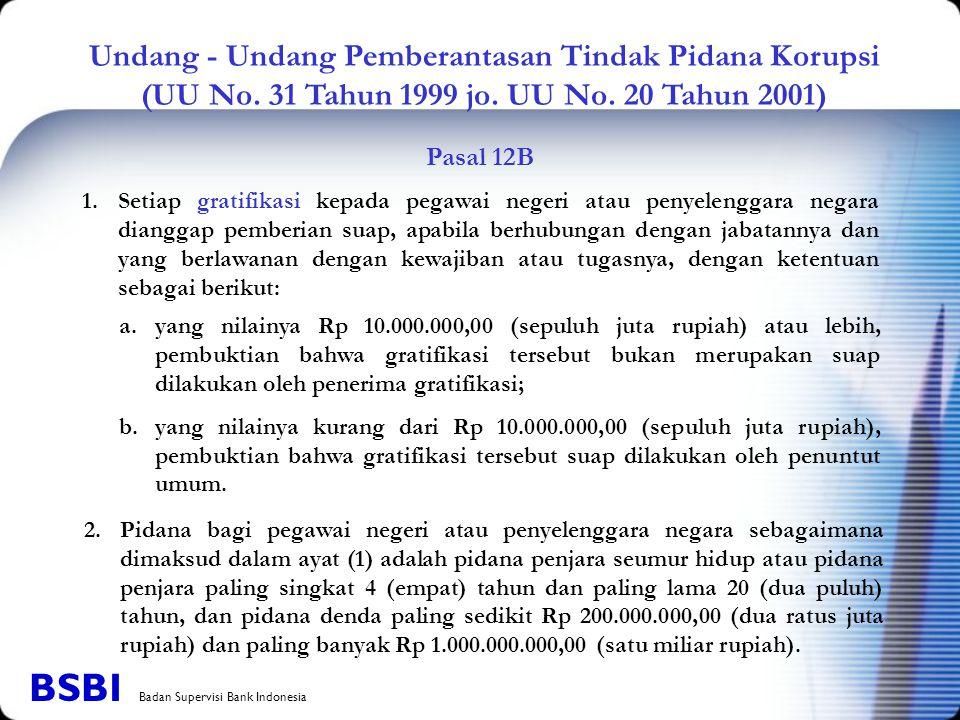 BSBI Badan Supervisi Bank Indonesia