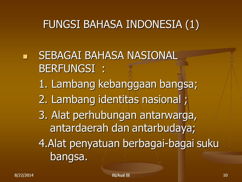 FUNGSI BAHASA INDONESIA (1)