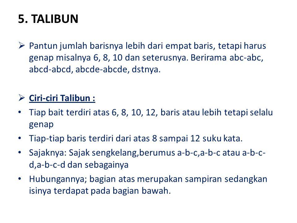 5. TALIBUN