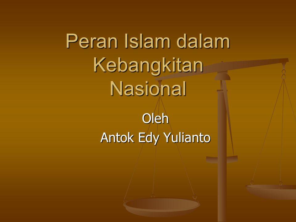 Peran Islam dalam Kebangkitan Nasional