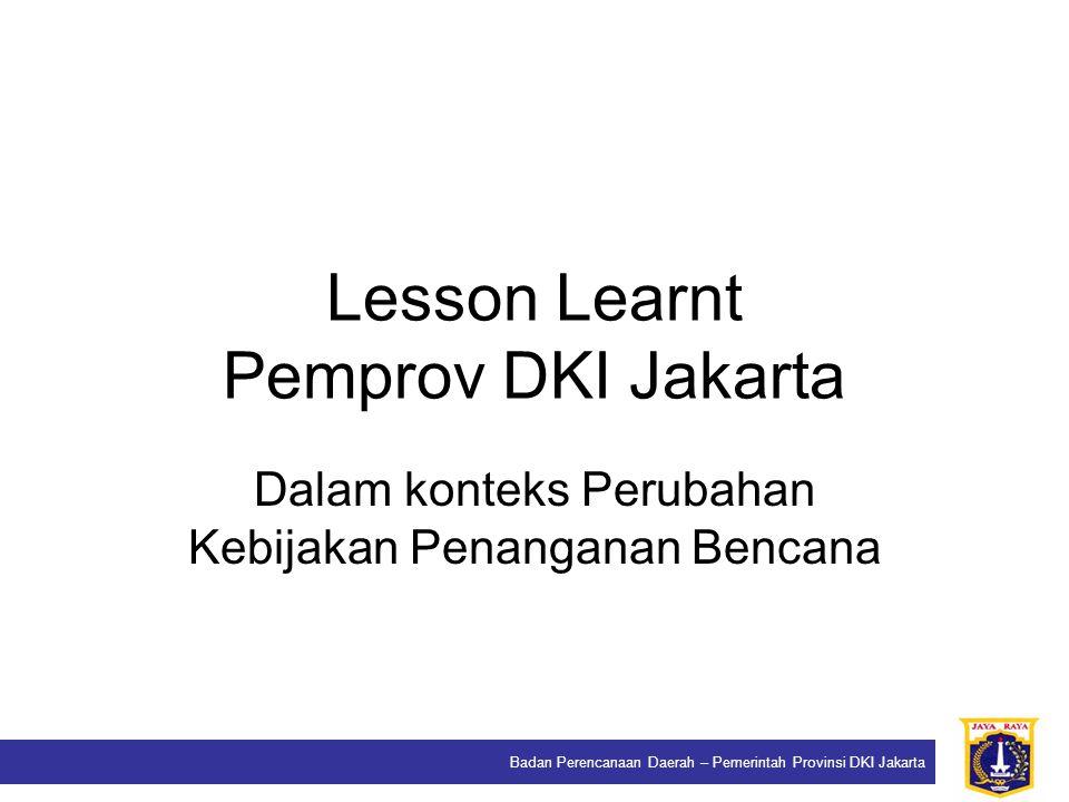 Lesson Learnt Pemprov DKI Jakarta