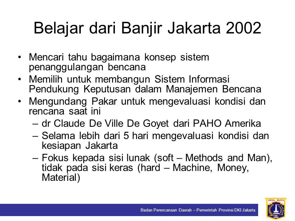 Belajar dari Banjir Jakarta 2002