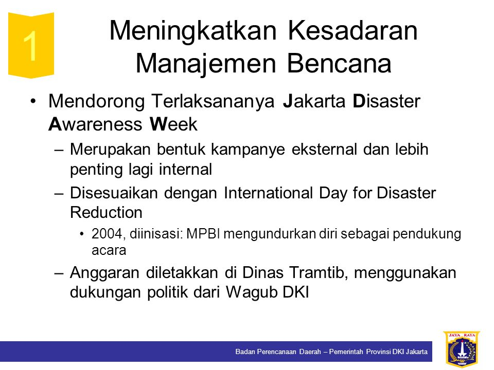 Meningkatkan Kesadaran Manajemen Bencana